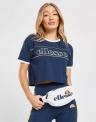46% Korting Ellesse Piping Crop T-Shirt Dames voor €15 bij JD Sports