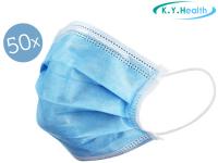 63% Korting 50x K.Y.Health Mondmasker (Type I) bij iBOOD