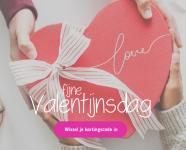 5% Extra korting met valentijnsdag kortingscode bij Koopjedeal
