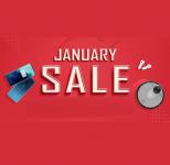 $5 Extra korting voor bestellingen boven $100 tijdens de January Sale bij Geekbuying