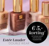€5 Korting met Kortingscode voor Estée Lauder Double Wear Foundation bij Douglas