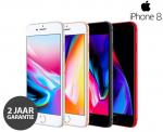 50% Korting Apple iPhone 8 64 GB(Refurbished) + Hoesje en Tempered Glass voor €299,99 bij Telegraaf Webshop