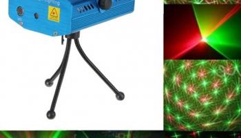 50% Korting iBello Disco laser LED licht voor €19,95 bij DealWizard