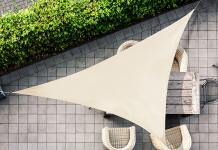 79% Korting Schaduwdoek  van 3, 5 of 6 meter voor vanaf €14,99 bij Vouchervandaag.nl