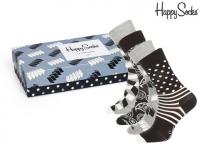 50% Korting Happy Socks Giftpack (4 Paar) bij iBOOD