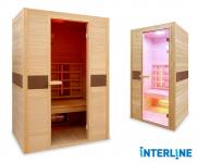 50% Korting Interline Infrarood Sauna voor 749,95 bij Voordeelvanger