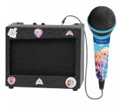 50% Korting Lexiboo Draagbare Frozen karaoke-luidspreker in retrostijl voor €29,98 bij Groupon