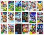 52% Korting op 5 Nintendo Switch Games voor €145,14 bij Amazon Duitsland