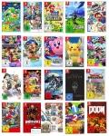 50% Korting op 5 Nintendo Switch Games voor €150 bij Amazon Duitsland