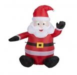 50% Korting Opblaasbare Kerstman 1.2 meter voor €19,95 bij Actievandedag