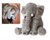 53% korting Grijze XL olifant knuffel voor €18,95 bij Dealdonkey