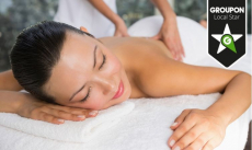 -53% Weldadige rug-, nek- en schoudermassage bij Just Wellness voor €19 bij Groupon