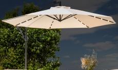 55% Korting Swing & Harmony Parasol met LED-verlichting 3 meter voor €112,99 bij Groupon