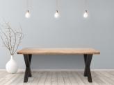 55% Korting Feel Furniture Eetkamertafel Oak voor €499,95 bij iBOOD