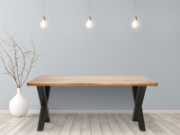 51% Korting Feel Furniture Eetkamertafel Oak bij iBOOD