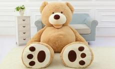 56% korting gigantische teddybeer van 90 – 160 cm bij Groupon