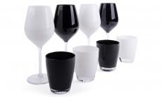 56% korting set van 4 Excelsa glazen en bekers voor €14,99 bij Groupon
