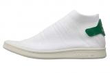 57% korting adidas Originals Dames Stan Smith Shock Primeknit Sneakers Wit voor €56,95 bij MandM Direct