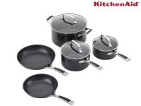 64% korting KitchenAid 5-delige Pannenset voor €99,95 bij iBOOD