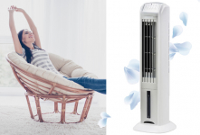 58% Korting Olimpia 3-in-1 aircooler, luchtreiniger én ventilator voor €98,95 bij Vouchervandaag.nl