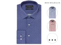 58% korting op Michaelis katoenen overhemd voor €24,95 bij iBOOD