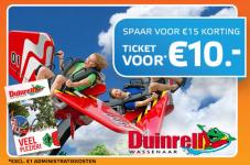 59% Korting voor toegangskaart Duinrell met Spaardeal bij Scoupy