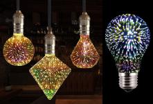 60% korting LED vuurwerklamp in 10 modellen voor €7,99 bij Vouchervandaag.nl