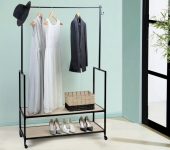 60% Korting Lifa Living Scandinavisch Design Kledingrek voor €59,99 bij Koopjedeal