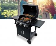 60% Korting Luxe 3 Pits Gasbarbecue voor €119,95 bij Voordeelvanger