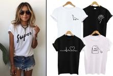 60% Korting Trendy Damesshirt in 8 designs voor €7,99 bij Vouchervandaag