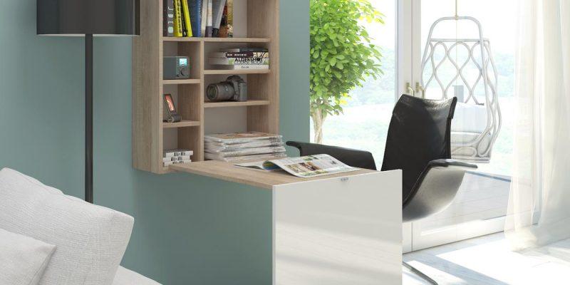60% Korting Opvouwbaar bureau met praktische planken voor €90,99 bij Groupon