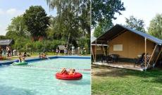 62% Korting Vakantie in een luxe safaritent in Nederland, België of Tsjechië voor €99 p.p. bij Actievandedag