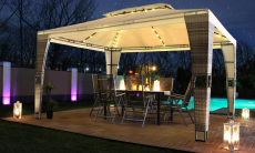 63% Korting Prieel Royal van 3 x 4 meter met led verlichting voor €296 bij Groupon