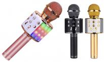 64% Korting Bluetooth Karaoke Microfoon voor €9,99 bij Groupon