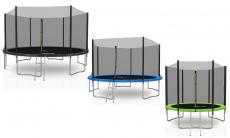 64% Korting Kaia Sport Deluxe trampolines van 244-427 cm diameter bij Groupon