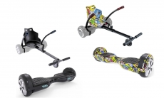 65% korting Hoverboard Kart voor €39,99 bij Groupon