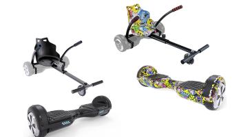 64% korting Hoverboard Kart voor €124,99 bij Groupon