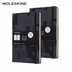 66% Korting 2 x Limited Moleskine Notitieboek Large voor €16,95 bij 6deals