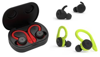 71% Korting 1 of 2 Bluetooth in-ear oordopjes met oplaadcase voor €9,50 bij Groupon