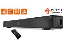 70% Korting Dutch Originals Bluetooth Soundbar Speaker voor €44,99 bij Koopjedeal