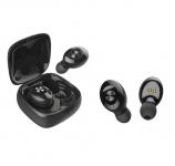 74% Korting 1 of 2 Bluetooth in-ear oordopjes met oplaadcase voor €9,50 bij Groupon