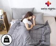 67% Korting Swiss Nights Verzwaringsdeken voor €59,95 bij GroupDeal