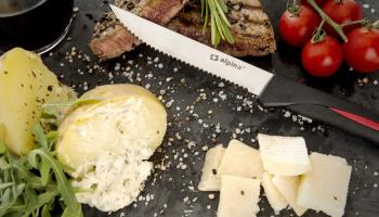 73% Korting 12 steakmessen van Alpina voor €7,95 bij Actievandedag