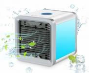 54% Korting Air Cooler Compacte Draagbare Luchtkoeler Met Moodlight €22,95 bij Voordeelvanger
