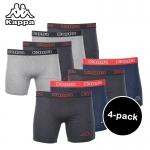 75% Korting 4 Pack boxershorts van Kappa voor €14,95 bij Elkedagietsleuks