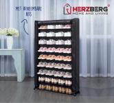 75% Korting Herzberg Afsluitbaar Schoenenrek met een Gepoedercoat Stalen Frame voor €19,99 bij Koopjedeal