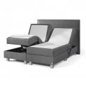 75% Korting Luxe Elektrische Boxspring incl. onderbox, beweegbaar matras met 7 comfortzones, split topper en hoofdbord voor €999 bij Koopjedeal