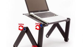 75% Korting TechnoSmart Ergonomisch Verstelbare Laptoptafel voor €19,99 bij Koopjedeal