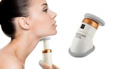 78% Korting Massage-apparaat voor hals en kin voor €4,49 bij Groupon
