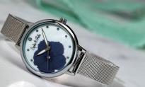 """85% Korting Sophie en Freda Dames Horloge """"Raleigh Mother-Of-Pearl"""" met Swarovski Kristallen voor €42,99 bij Groupon"""